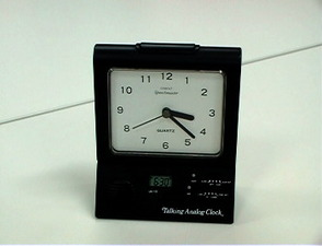3006-PR08287-Talking analogue alarm clock