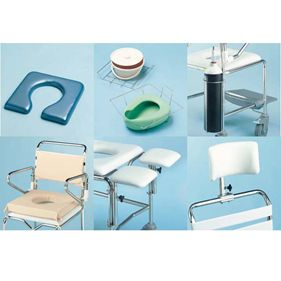 mobile shower commode accessories v2